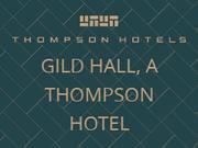 Gild Hall coupon code