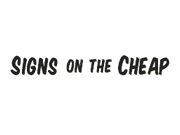Signs on the Cheap coupon code