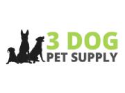 3 Dog Pet Supply coupon code