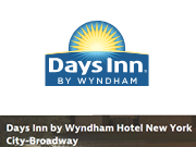 Days Inn by Wyndham Hotel New York City-Broadway coupon code