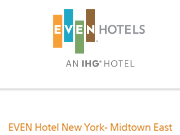 EVEN Hotel New York - Midtown East coupon code