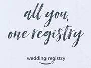 Amazon wedding registry coupon code