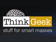 ThinkGeek coupon and promotional codes